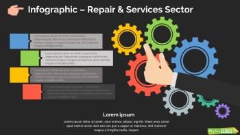Repair & Services Sector Slide Dark Version
