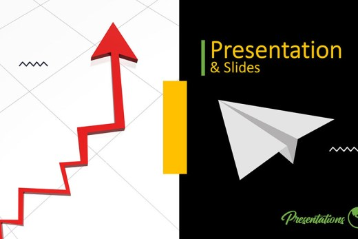 2015 - Profit arrow up ppt design