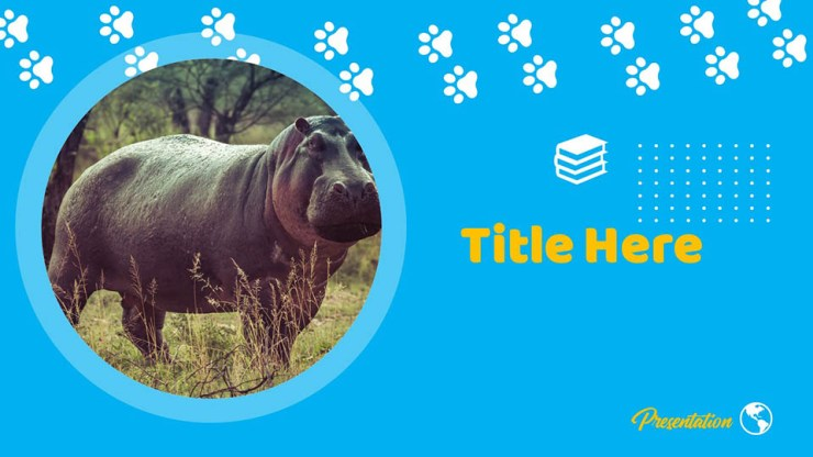 Free Hippo Google Slides Themes