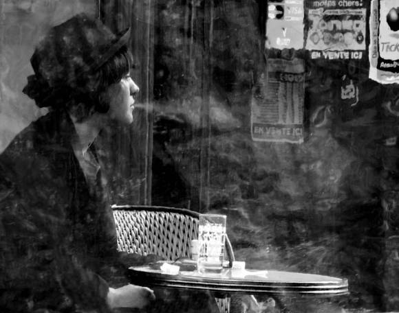 MyFrenchLife™ - MyFrenchLife.org - Midlife in Paris - Kevin Doolan - street photographer - Clouds in her Coffee