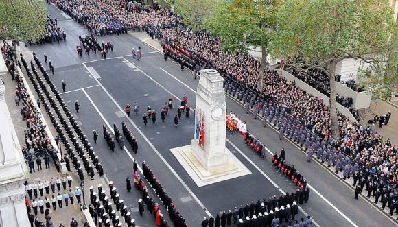 MyFrenchLife™ – MyFrenchLife.org - World War 1 - Great War - WWI Remembrance Sunday London Cenotaph -