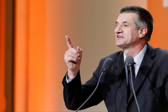 MyFrenchLife™ – MyFrenchLife.org - French presidential debate - French election - 2017 - Jean Lassalle