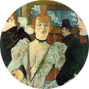 MyFrenchLife™ – MyFrenchLife.org – Louise Weber – La Goulue – Henri Toulouse-Lautrec – Moulin Rouge – cancan – Toulouse Lautrec painting