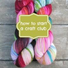 start a craft club