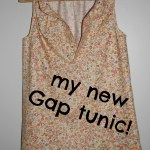 SEWN – cotton Gap tunic