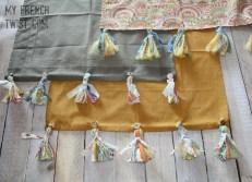 Anthro hack tea towels - april craft club recap