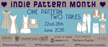 indie pattern contest - my french twist