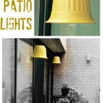DIY patio lights - My French Twist