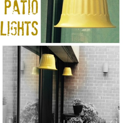 DIY patio lights tutorials - My French Twist