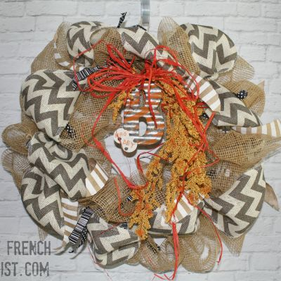 tutorials football wreath