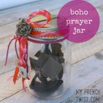 boho prayer jar with My French Twist