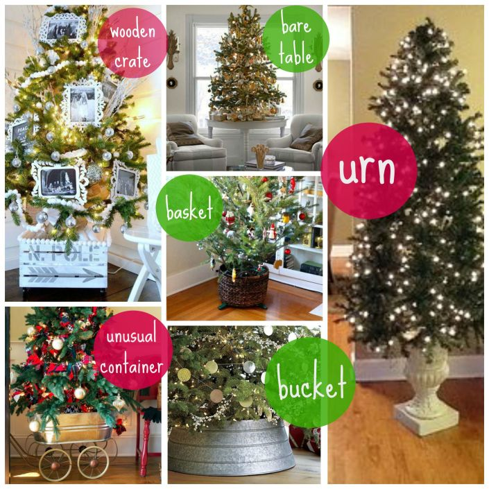 variety of tree skirts with myfrenchtwist.com