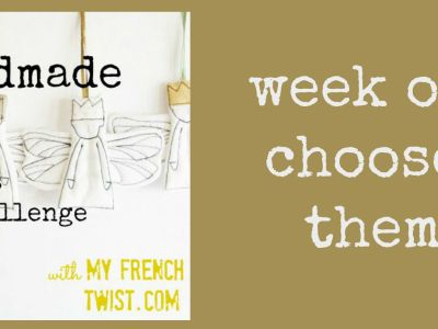 week one of handmade christmas with myfrenchtwist.com