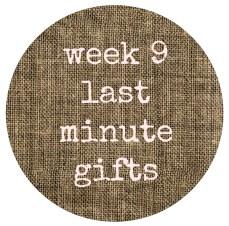 week 9 button