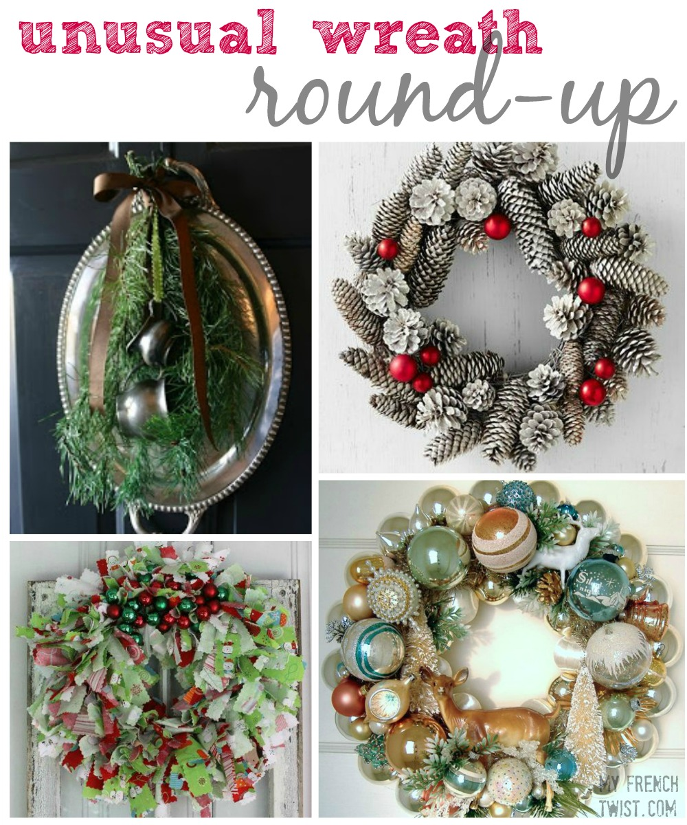 wreath round ups by myfrenchtwist.com