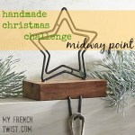 handmade christmas challenge midway point