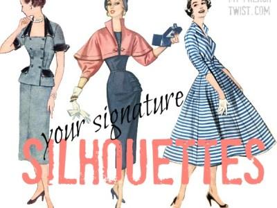 signature silhouettes - myfrenchtwist.com