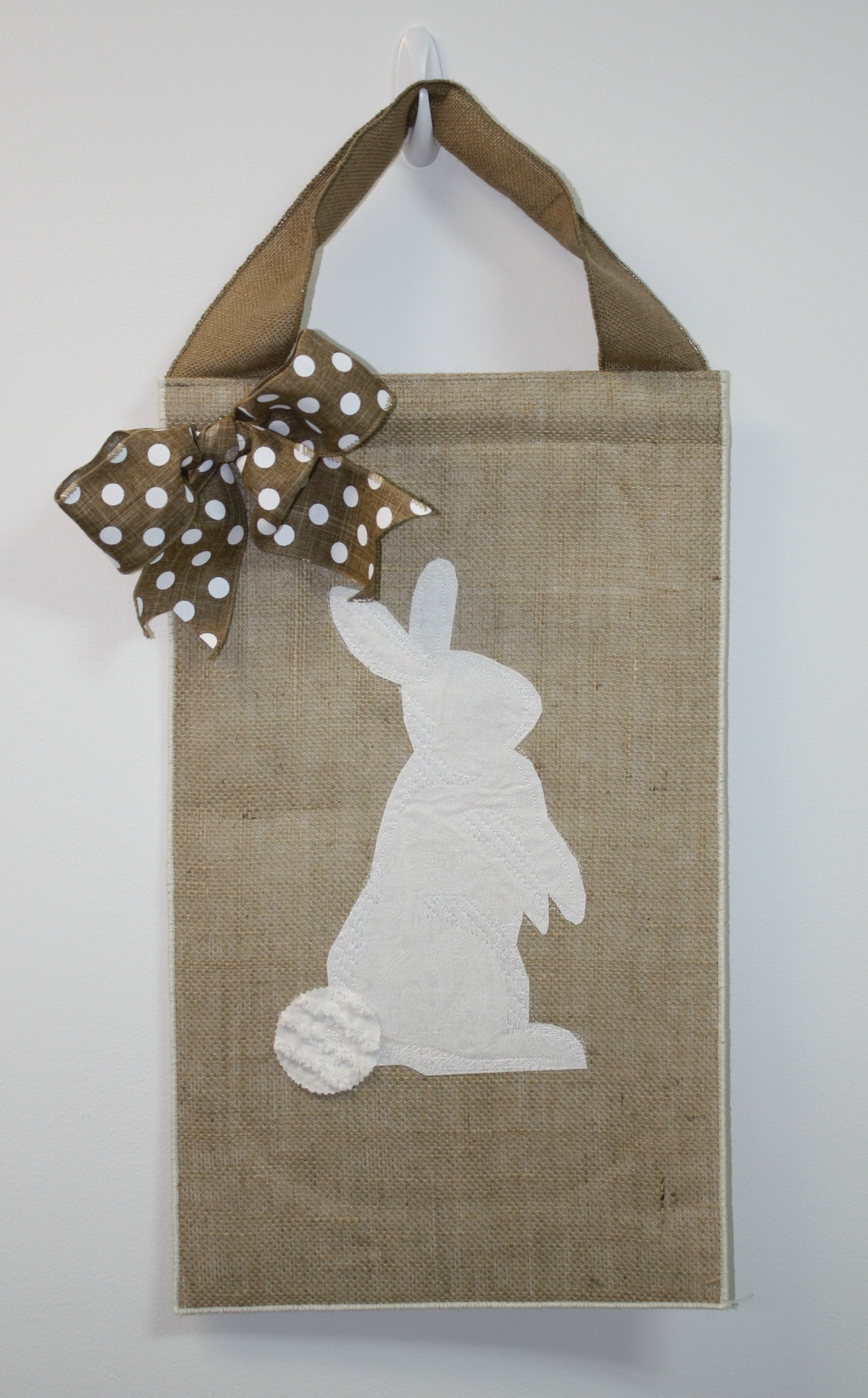 easter flag with buny - myfrenchtwist.com
