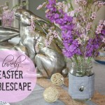 lovely easter tablescape