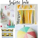midcentury modern fabric love