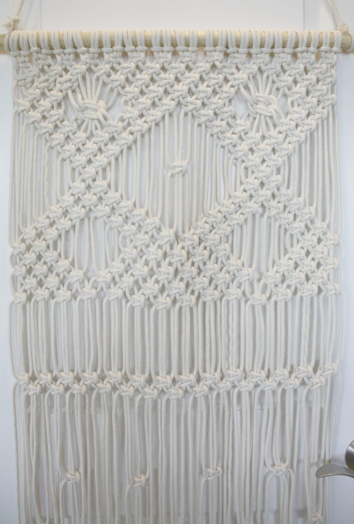 How To Make A Macrame Wall Hanging macrame wall hanging for beginners - my french twist