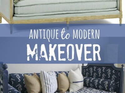 antique to modern makeover - myfrenchtwist.com