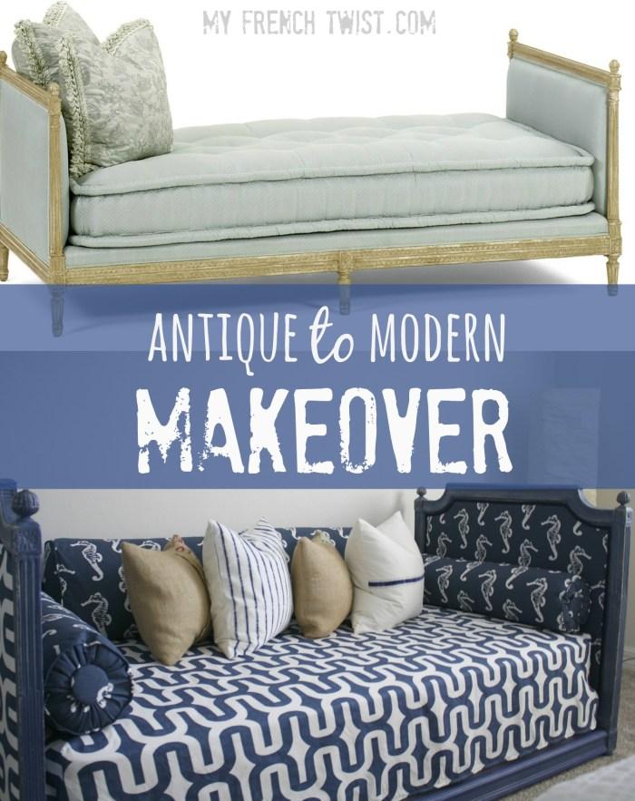 antique to modern makeover - myfrenchtwist.com