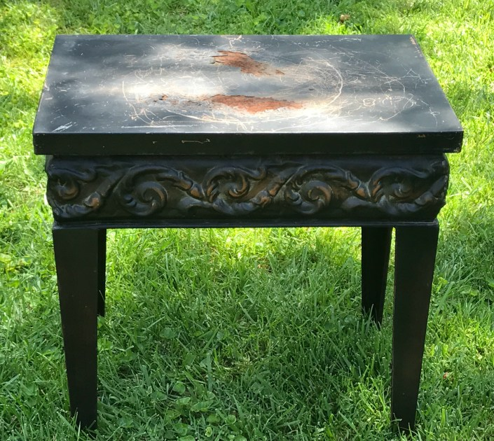 metal table upcycle - myfrenchtwist.com