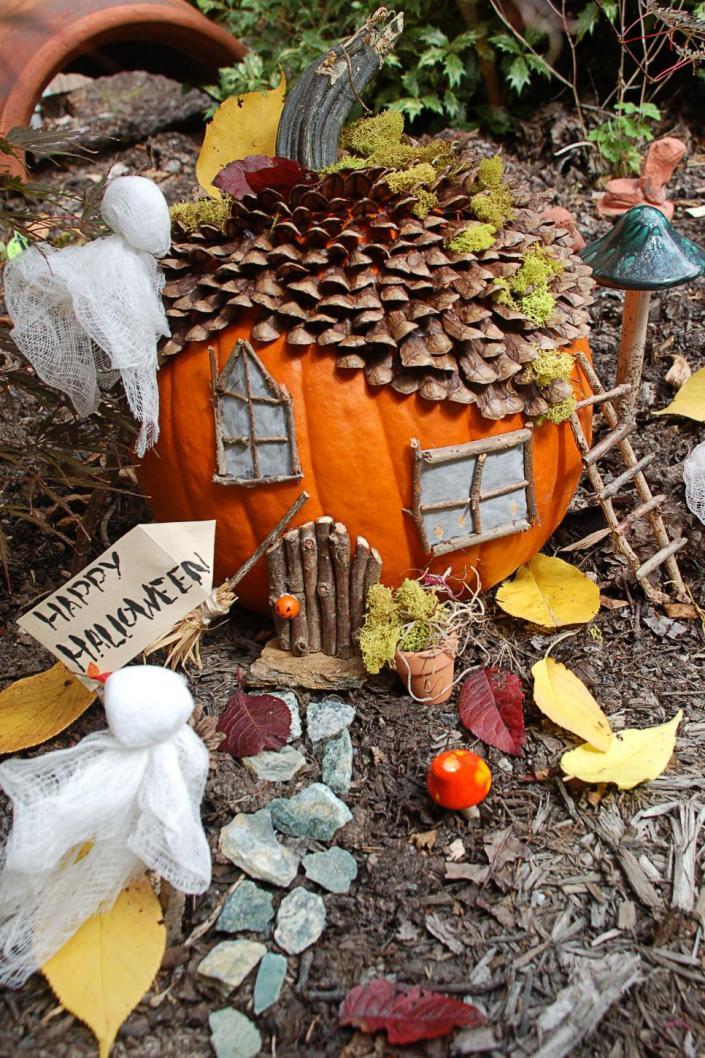 pumpkins dioramas - myfrenchtwist.com