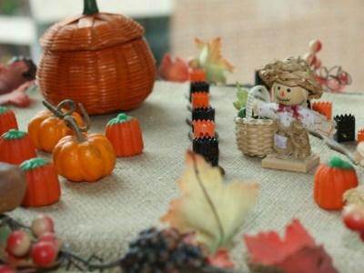 pumpkin diorama - myfrenchtwist.com