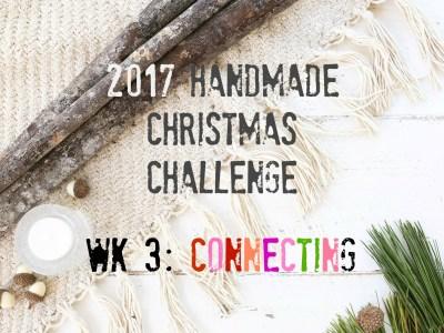 handmade christmas wk 3