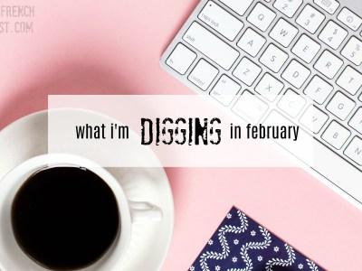 digging in february
