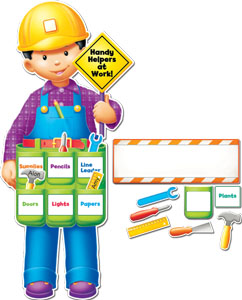 Handy Helpers bulletin board set