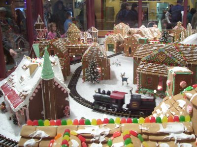 Crown Center Gingerbread Village