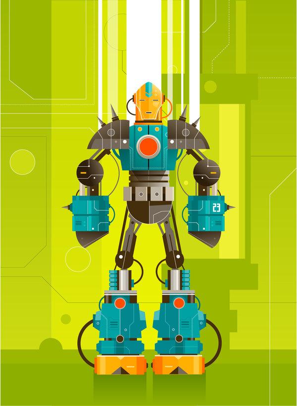 Robot Classroom Theme Freshplans