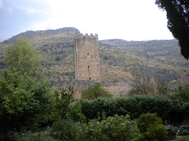 ruins at Nimfa