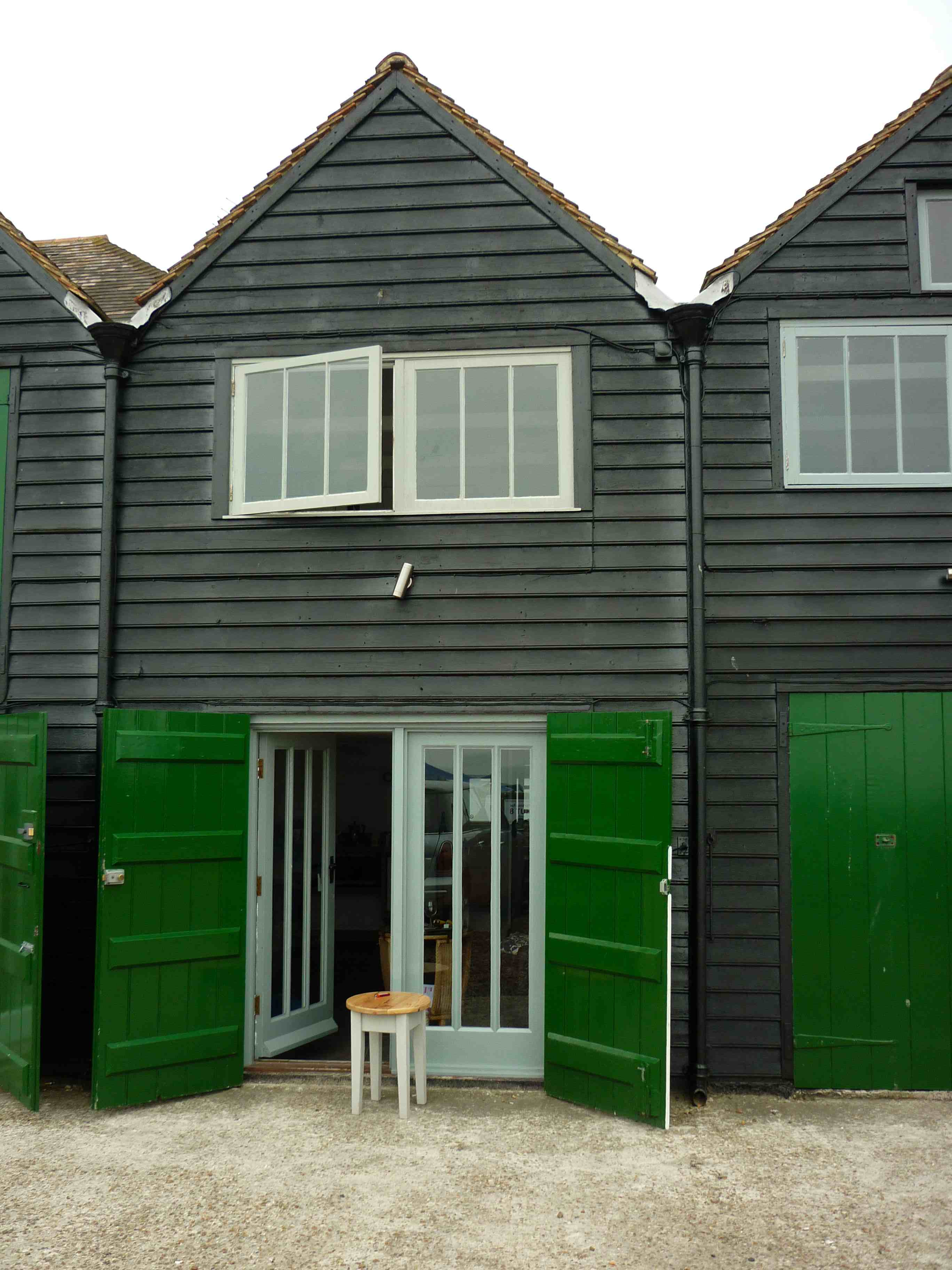 Black Red Green Whitstable Fishermans Huts My Friend