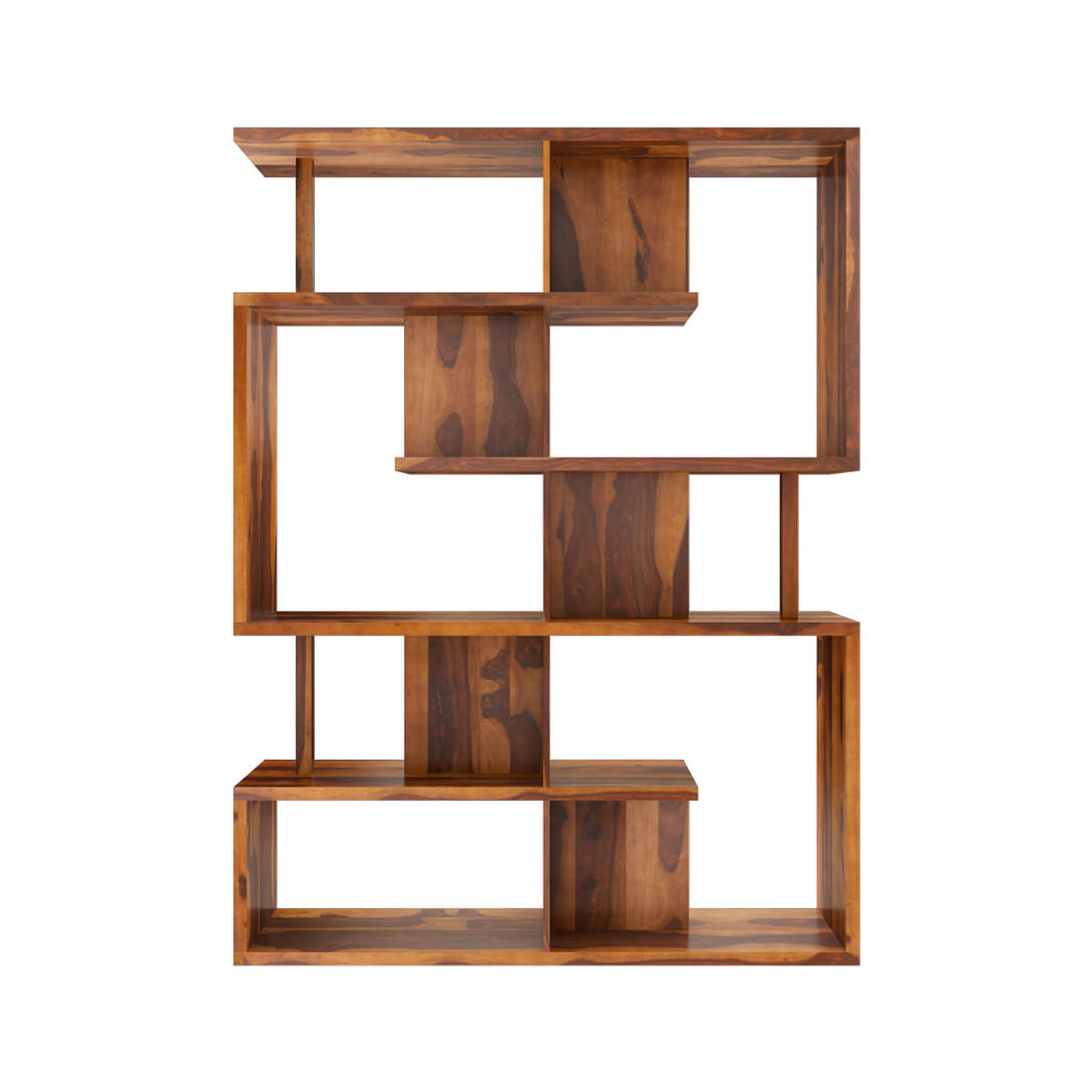 Fair Modern Sheesham Solid Wood Bookcase