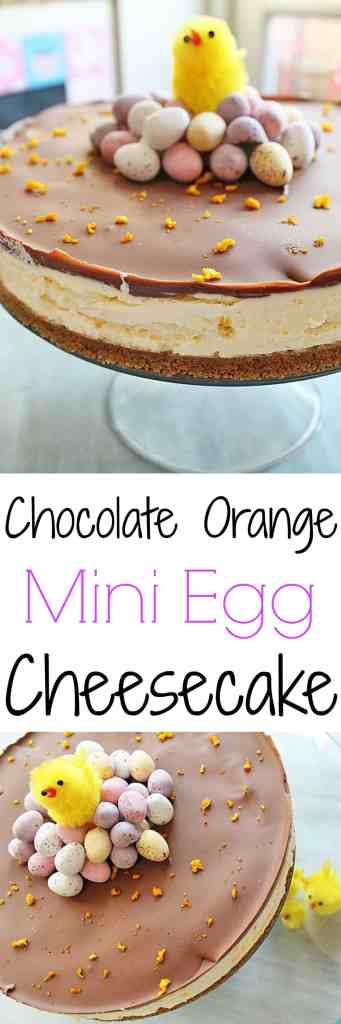 Chocolate & Orange Mini Egg Cheesecake - My Fussy Eater