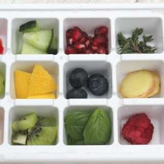 Fruit & Herb Ice Cubes