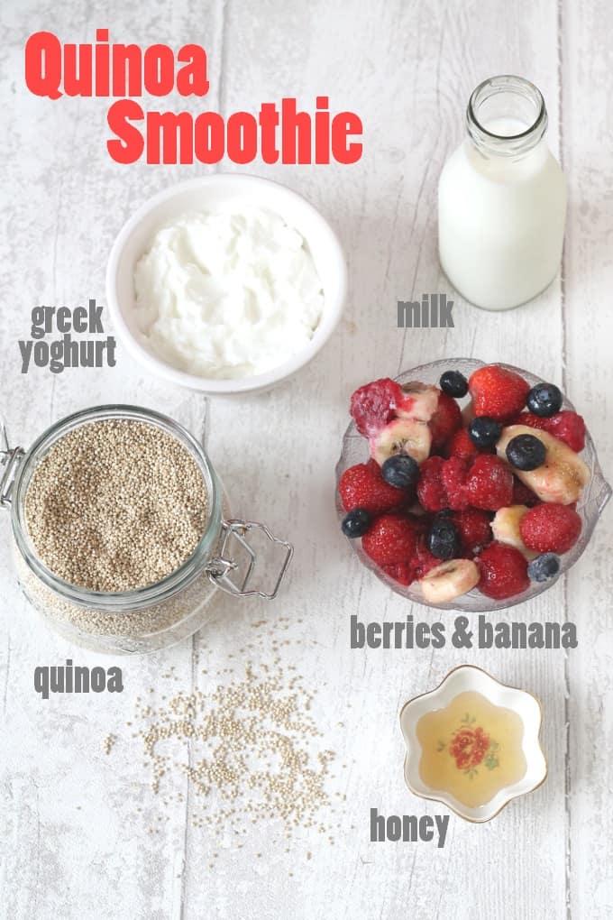 quinoa smoothie