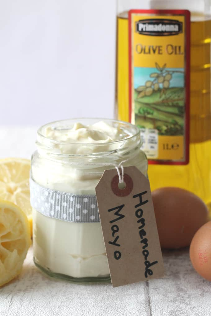 homemade mayo paleo