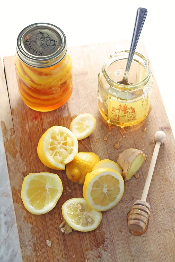 Honey Lemon Ginger Jar - Natural Cold & Flu Remedy - My ...