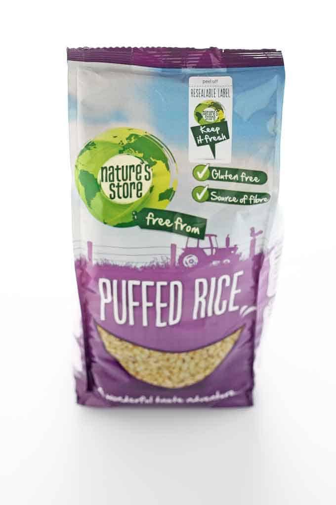puffed rice healthy treats