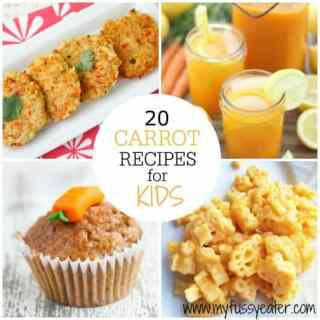 20 Great Carrot Recipes for Kids