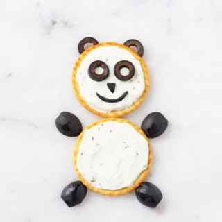Cream Cheese & Black Olive Bear Crackers