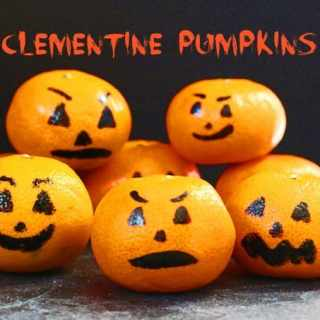 Clementine Pumpkins {Fun Halloween Snack for Kids}