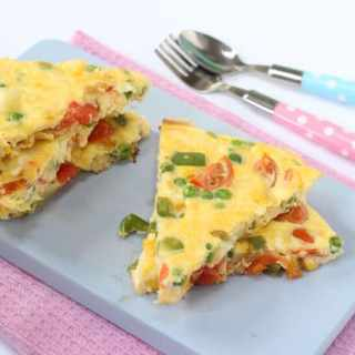 Lunchbox Spanish Omelette