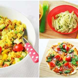 3 Easy Family Dinners in 10 Minutes or less!