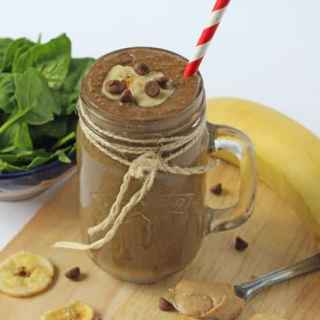 Chocolate Peanut Butter Banana Smoothie